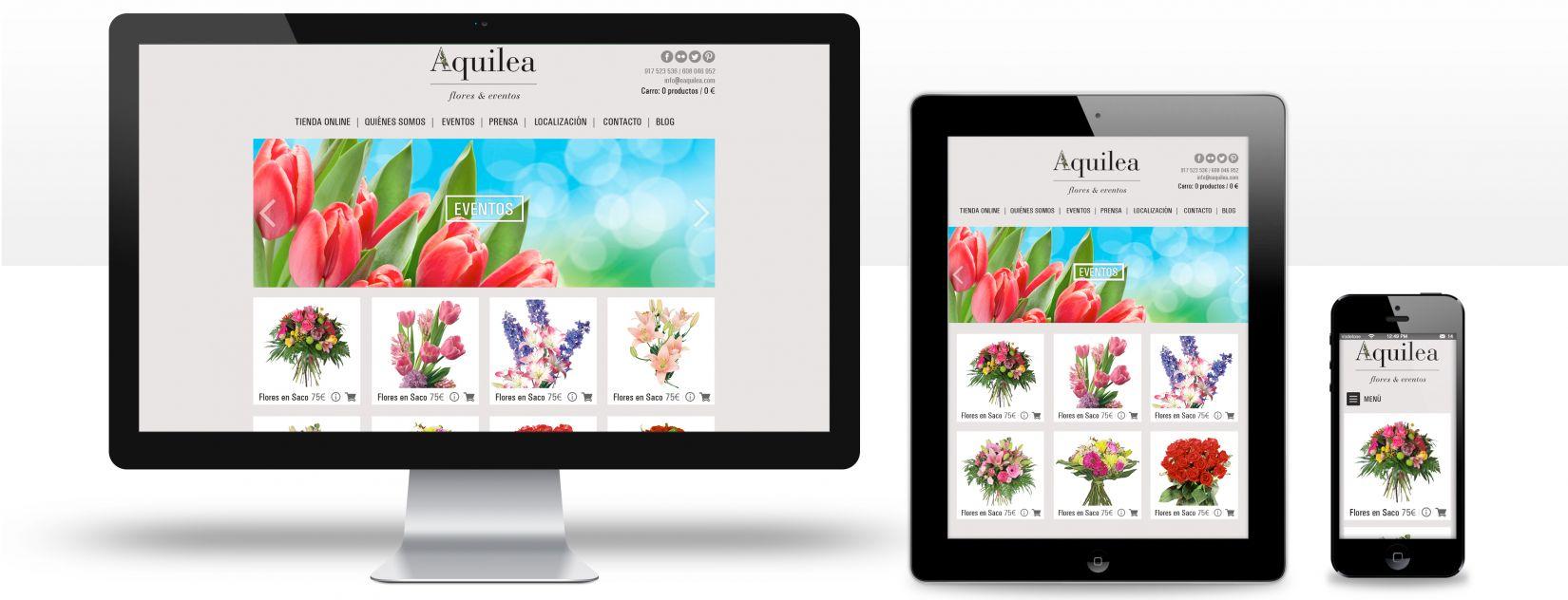 Tienda online  venta de flores